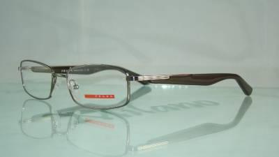 Glasses Frame Size 52 : PRADA VPS 54B 5AV 1O1 Gunmetal Glasses Eyeglasses Frames ...