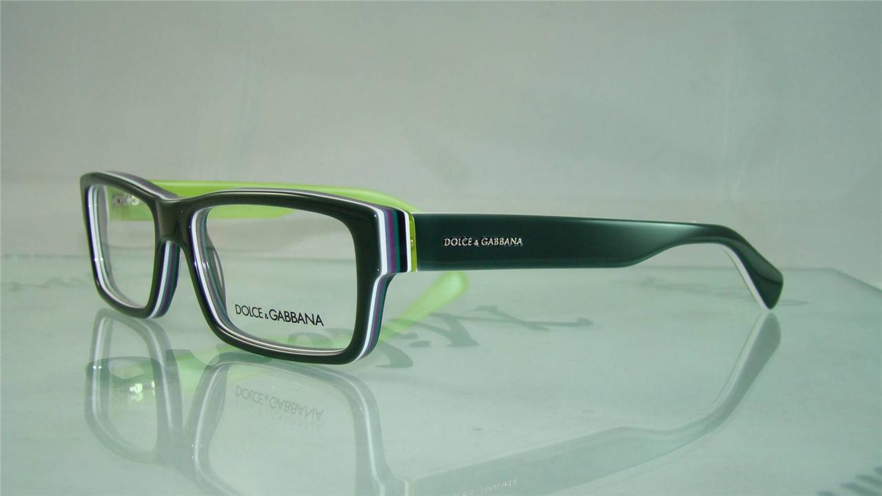 Eyeglass Frame Size 54 : NEW DOLCE GABBANA D G DG 3180 2770 GREEN GLASSES ...