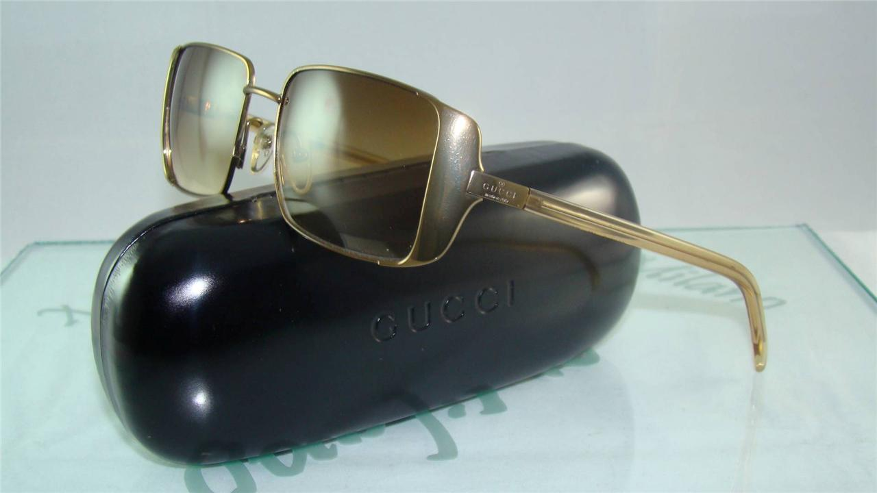 Gucci Sunglasses Ebay  new vintage gucci gg 2657 s t4x brown sunglasses made in