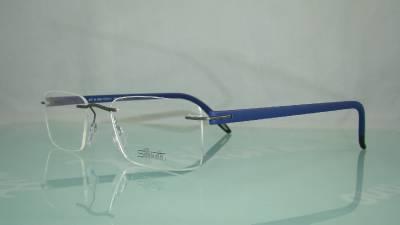 Silhouette SPX Signia 5377 60 6063 BLUE Rimless Frames ...