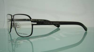 Eyeglass Frame Size 58 : PORSCHE DESIGN P 8193 C Titanium Dark Gunmetal Eye glasses ...