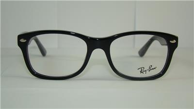 Glasses Frame Size 48 : RayBan Ray Ban Junior RB 1528 3542 BLACK Kids Frames ...