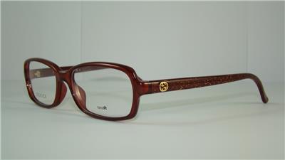 Gold Glitter Glasses Frames : Gucci GG 3628 DXL Red Glitter Gold +Orig Case Glasses ...