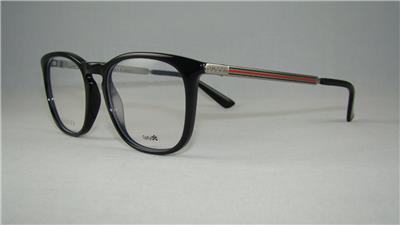 ready stock gucci gg 1136 cvs black ruthenium frames