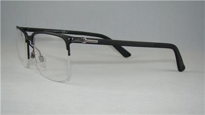 Gucci Glasses Half Frame : GUCCI GG 2265 003 Matte Black Half Rim Frames Glasses ...