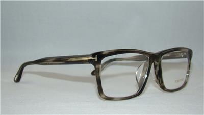 Tom Ford TF 5407 005 Clear Smoke Gray Havana Glasses ...