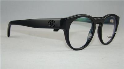 Glasses Frame Size 47 : CHANEL 3346 501 Black Glasses Eyeglasses Frames Size 47 eBay