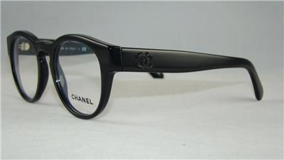 CHANEL 3346 501 Black Glasses Eyeglasses Frames Size 47 eBay