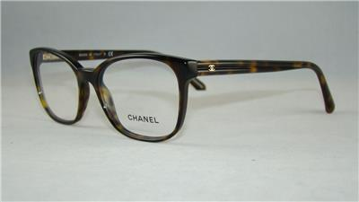 CHANEL 3313 714 Dark Havana Glasses Eyeglasses Frames Size ...