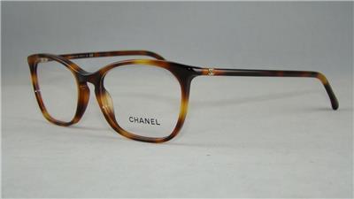 CHANEL 3281 1295 Tortoise Glasses Eyeglasses Frames Size ...