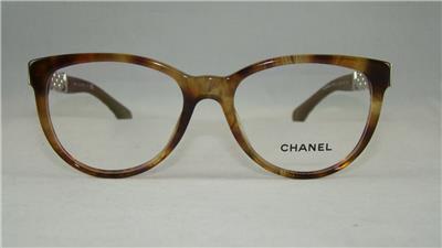 CHANEL 3321 Q 1525 Havana Glasses Eyeglasses Frames Size 53