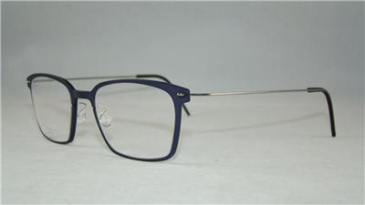 Glasses Frame Size 49 : LINDBERG 6536 C14M P10 Matte Blue Unisex Glasses ...