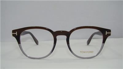 TOM FORD TF 5400 065 Brown & Grey +Orig Case Glasses ...