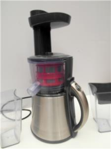 Je9000 Slow Juicer Stainless Steel : SUNBEAM JE9000 Slow JUICER Huice EXTRACTOR Adelaide eBay