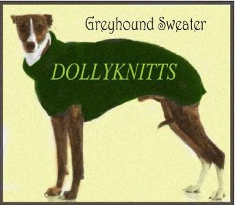 Greyhound Coat knitting pattern.