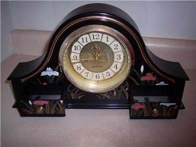 Mantel-Shelf Decorative Accent Clock (Battery Operated)