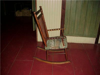 Antique Windsor Chair on Antique Windsor Childs Rocking Chair As Sweet As They Come From Maine & Windsor Rocking Chair Antique Style Miniature Artist Vintage 1960 ...