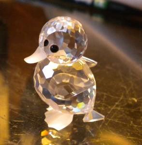100 Authentic Swarovski Crystal Mini Duck