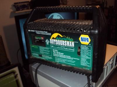 Napa Outdoorsman Battery Charger Manual