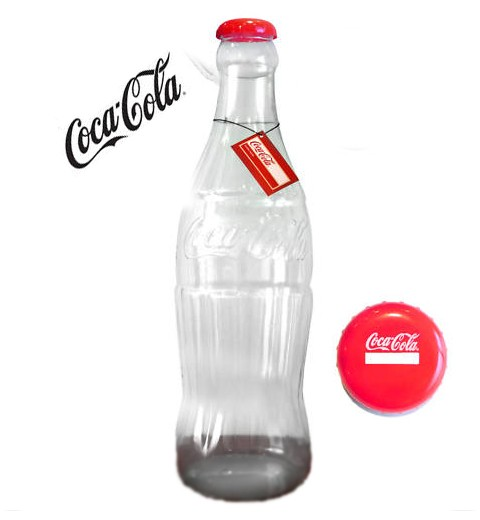 2 ft giant plastic cocacola money bottle piggy bank ebay for Plastic bottle coin bank