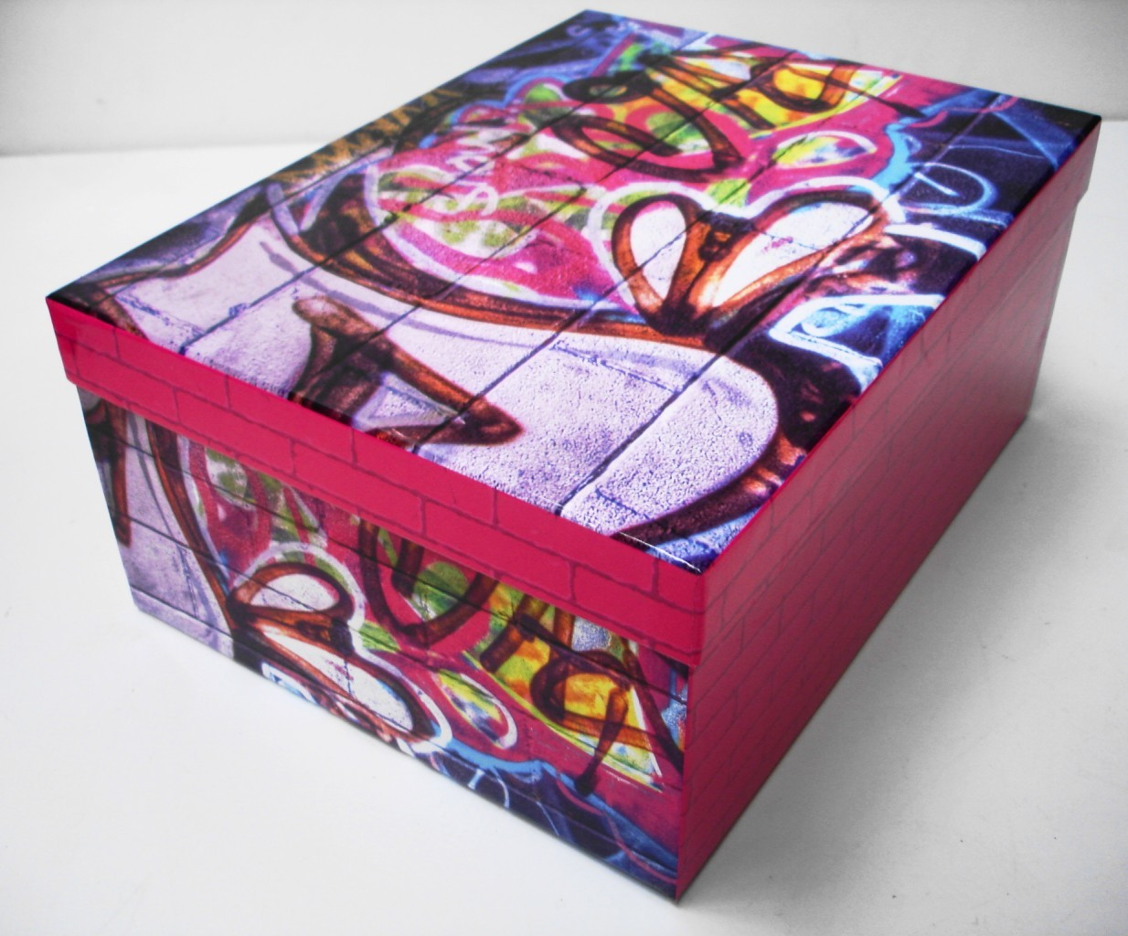 nyc or guitar christmas birthday cardboard gift box craft. Black Bedroom Furniture Sets. Home Design Ideas
