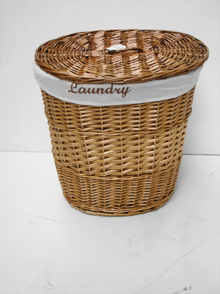 White Black Brown Wicker Round Oval Rectangle Laundry