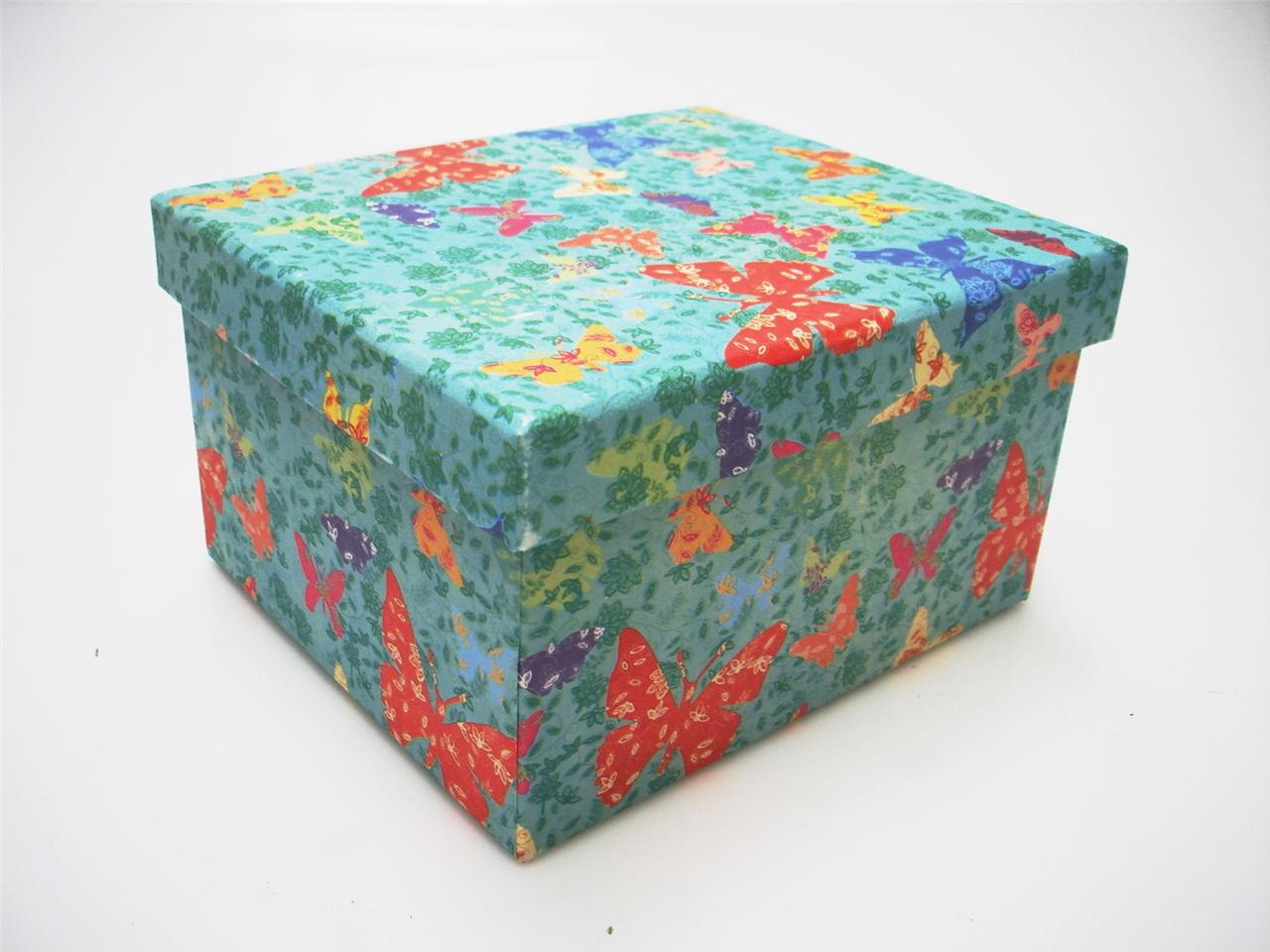 Recycled colourful cardboard crafts storage box kids for Craft box for toddlers