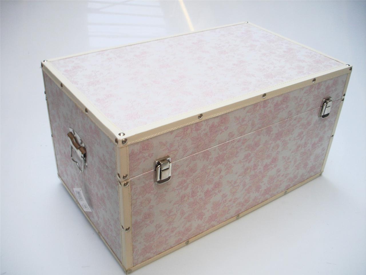 Rose flower design baby nursery kids bedroom wooden for Storage chests for bedroom