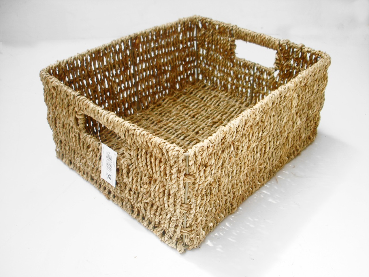 Home Office Strong Seagrass Kitchen Bathroom Livingroom A4 Paper Storage Basket Ebay