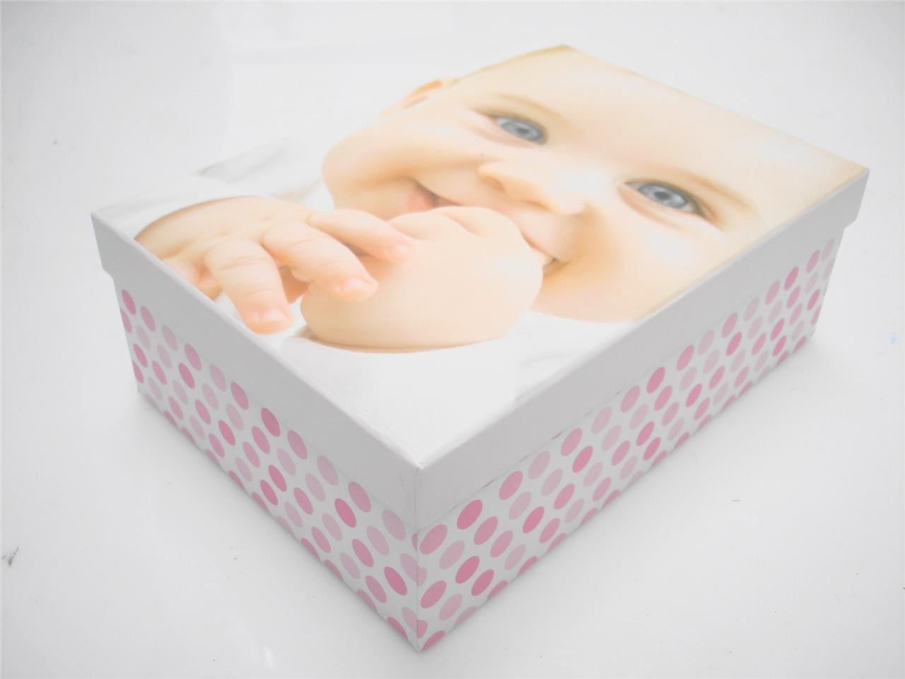 ... Boy Girl Hard Cardboard A4 Storage Boxes Kids Birthday Gift Box | eBay