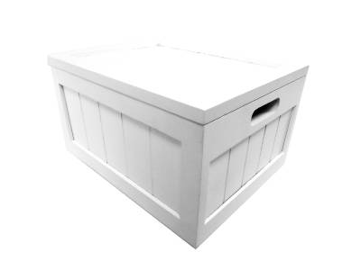 brown white wooden kids bedroom playroom toy box chest. Black Bedroom Furniture Sets. Home Design Ideas
