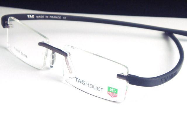 Bendable Rubber Eyeglass Frames : Rimless eyeglass frames flexible rubber Gun/black Man eBay