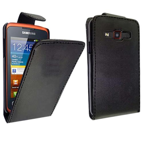 Stylish-PU-Leather-Magnetic-Flip-Case-Cover-For-Samsung-Galaxy-XCover-S5690