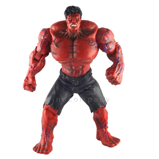 Marvel-Legends-Universe-RED-HULK-Incredible-Hulk-10-inches-Action-Figure-FG154