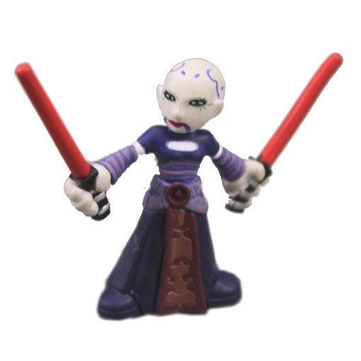 Star-Wars-Galactic-Heroes-ASAJJ-VENTRESS-2-Action-Figure-Super-Rare-SE76