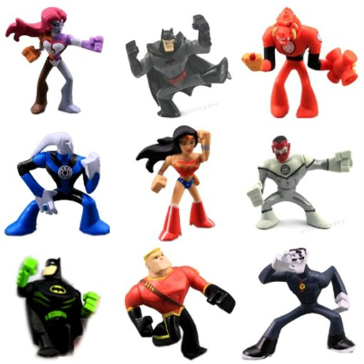 Lot9-DC-Universe-ACTION-LEAGUE-FIGURE-Batman-WONDER-WOMAN-DC-Comics-BOY-GIFT-Y52