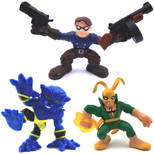 MARVEL-SUPER-HERO-SQUAD-BEAST-IRON-FIST-Marvels-Bucky-Legends-Comics-Figure-K2