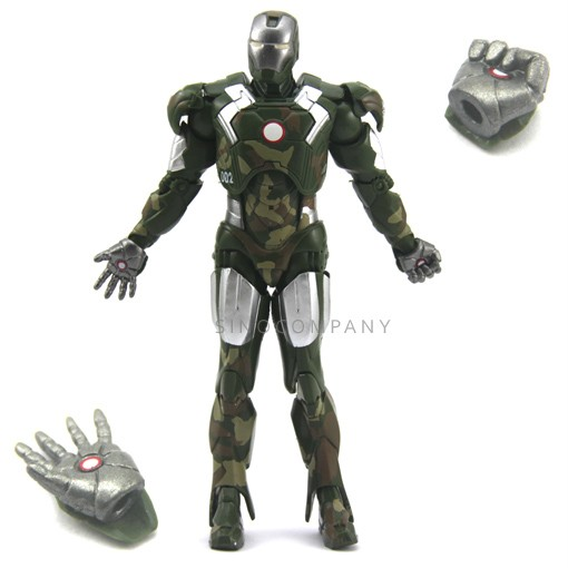 Marvel-Select-Legends-Iron-Man-3-camouflage-AK58-002-7-inch-Figure-FY87