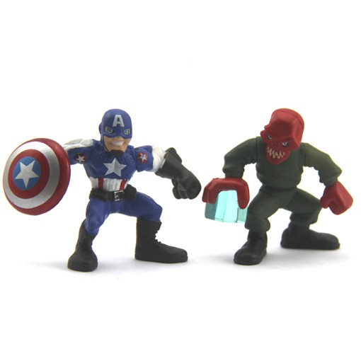 2-Marvel-Super-Hero-Squad-Red-Skull-CAPTAIN-AMERICA-COMICS-ACTION-Figure-Fk134