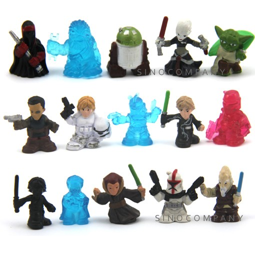 Lot-15-star-wars-fighter-pods-Trooper-Yoda-series-4-figure-Xmas-Gifts-S160
