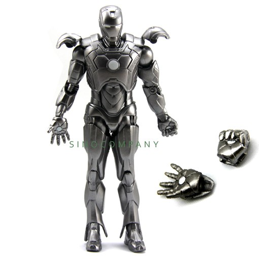 MARVEL-IRON-MAN-3-SILVER-Legends-Select-7-Inches-Figure-Children-XMAS-Gifts-FY83
