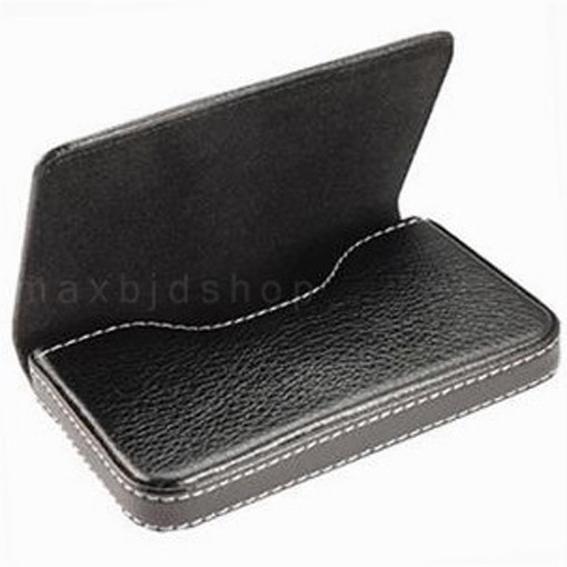 New Leather Business Credit ID Card Holder Case Wallet
