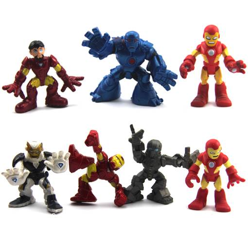 Lot-7-Marvel-Super-Hero-Squad-Legends-Iron-man-3-The-Avengers-2-5-Figure-N216