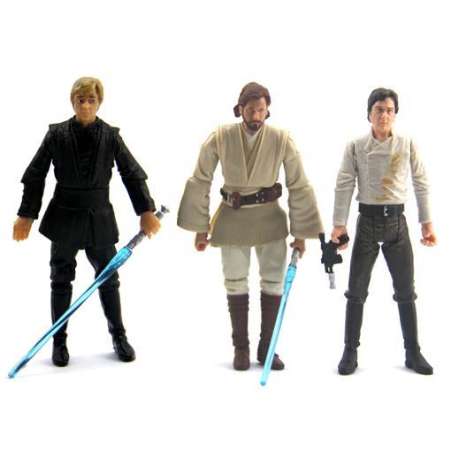 Star-Wars-LUKE-SKYWALKER-Han-Solo-kenobi-Obi-wan-FIGURE-RARE-S209