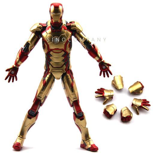 NEW-Marvel-Select-LegendS-Universe-Iron-Man-3-Mark-42-Tony-Stark-Figure-FY80
