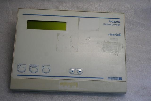 Ph Meter Lab : Radiometer phm standard ph meter lab ebay