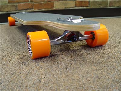 "Triple X ""Poly Carver"" Drop Thru Longboard Skateboard | eBay"