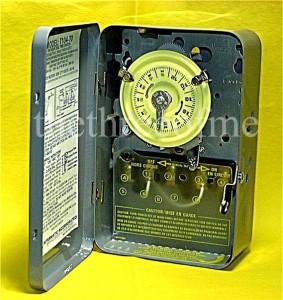 New intermatic t104 72 timer pool pump t104m 220v 40 amp for Intermatic pool timer clock motor