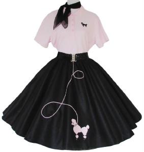 Original 50s Poodle Skirt
