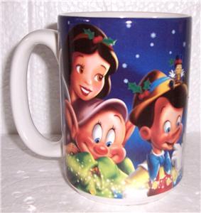 Disney World Mickey Mouse Friends Extra Large Ceramic Mug
